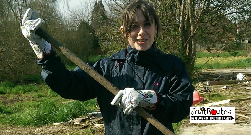 University of Liverpool GraduateKirsty Auterson at the Lyndale Orchard