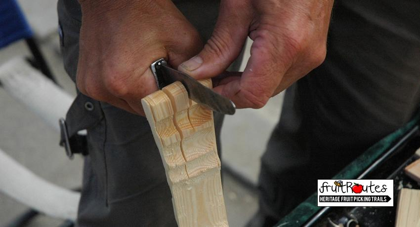 wood carving for creatives at fruit routes orchards